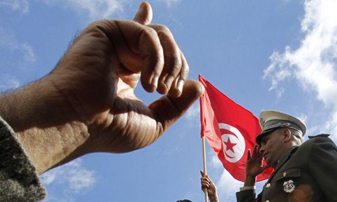 Tunesien Revolte jungen Unzufriedenen