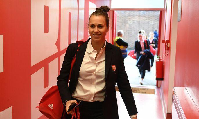 die österreichische Profifußballerin Viktoria Schnaderbeck
