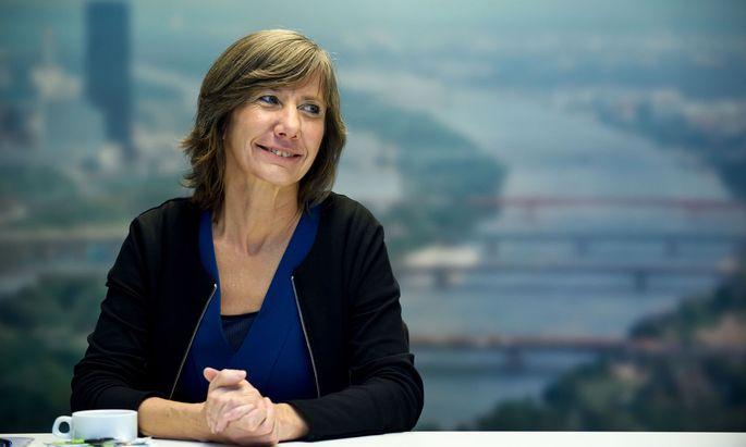 Die Wiener Verkehrsstadträtin Birgit Hebein (Grüne)