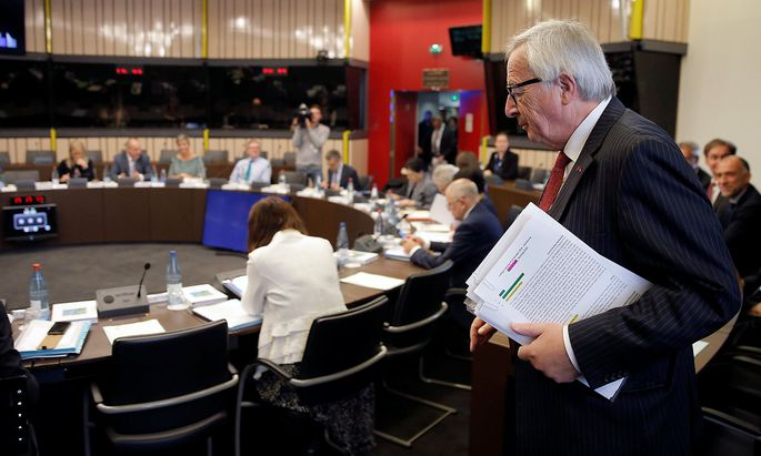 Die EU-Kommission lehnte erstmals im Voraus einen Haushaltsentwurf eines Mitgliedslandes ab.