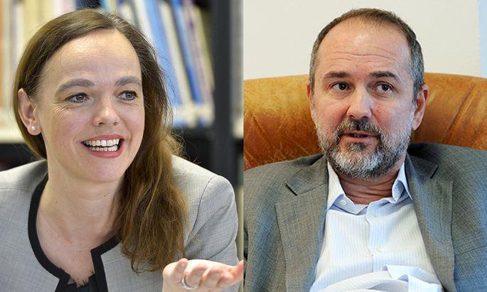 Sonja Hammerschmid und Thomas Drozda