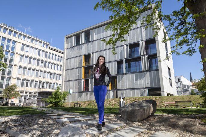 """""""Ich liebe Herausforderungen"""", erklärt Anita Emmerstorfer-Augustin ihre Entscheidung für das anspruchsvolle Forschungsthema Zellmembranen."""