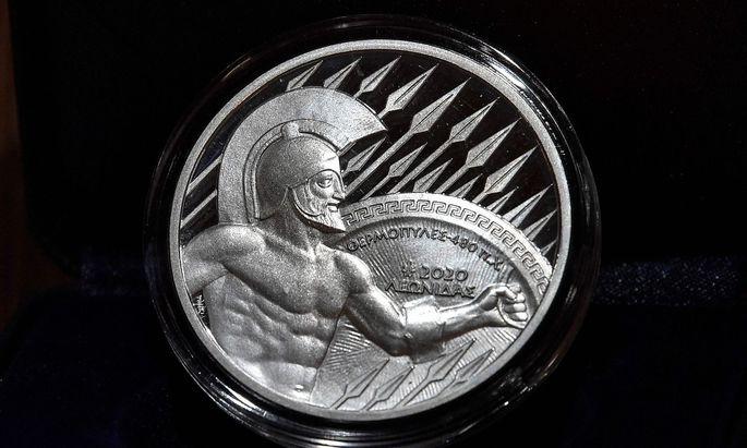 Griechenland ist zurück. König Leonidas auch – als Sammlermünze.
