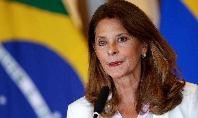 Die kolumbianische Außenministerin Marta Lucía Ramírez.