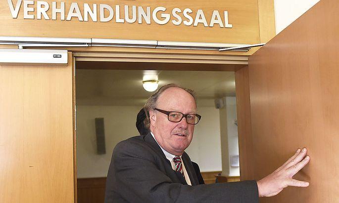 BLAULICHTFUNK-PROZESS AM STRAFLANDESGERICHT IN WIEN: MENSDORFF-POUILLY