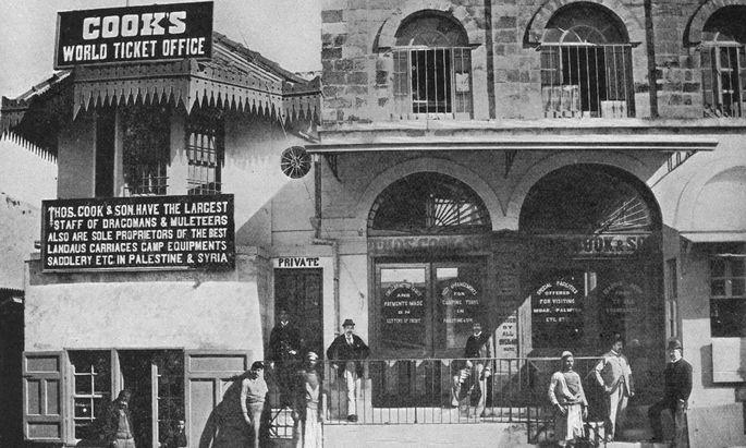Thomas Cooks World Ticket Office in Jerusalem