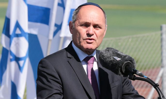 Archivbild: Nationalratspräsident Wolfgang Sobotka (ÖVP) im Mai 2018 bei einer Gedenkzeremonie der IKG und des Bundes Jüdischer Verfolgter des Naziregimes
