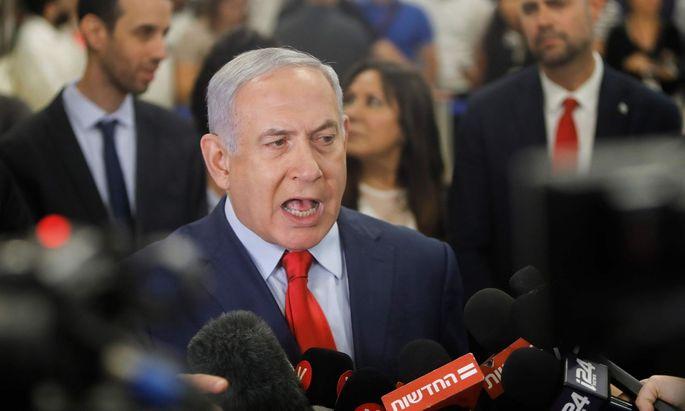 Benjamin Netanjahu setzt alles auf eine Karte.