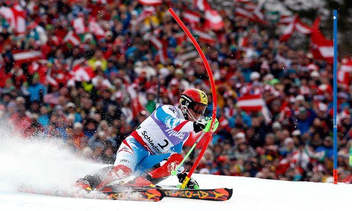 Archivbild: Hirscher bei den Weltmeisterschaften 2013 in Schladming.