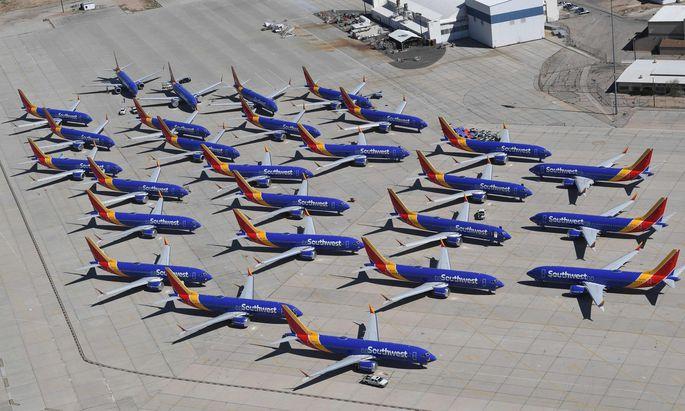 Maschinen der Baureihe 737 Max