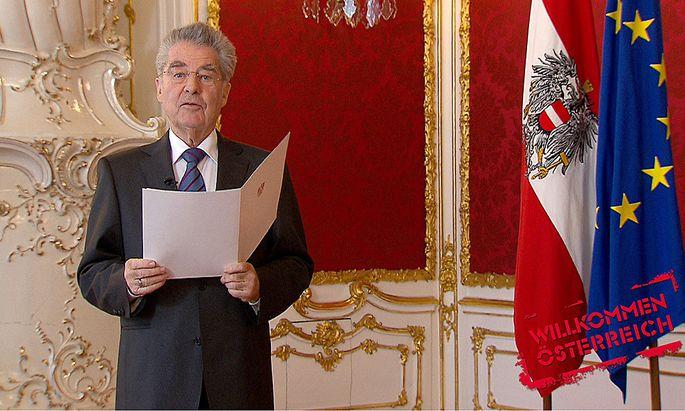 Willkommen �sterreich mit Stermann & Grissemann Heinz Fischer Bundespräsident