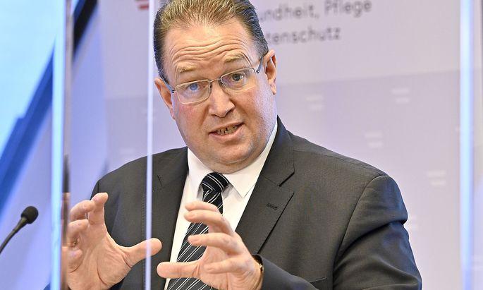 Ulrich Herzog, Leiter der Corona-Kommission