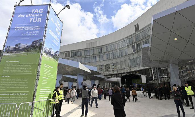Am 6. April gab es im Krankenhaus Nord einen Tag der offenen Tür, der von zahlreichen Besuchern genutzt wurde.