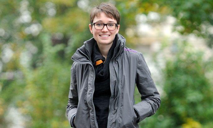 Sigrid Maurer gehört mit ihren 32 Jahren zu den Jungen bei den Grünen.