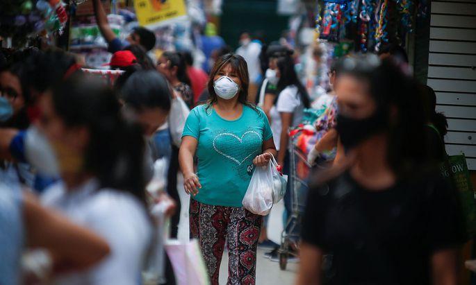 The spread of the coronavirus disease (COVID-19), in Lima