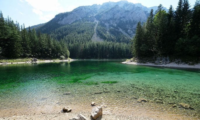 Der See heißt, wie er aus dieser Perspektive aussieht.