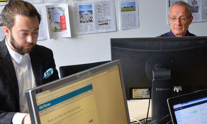 Peter Pilz im ''Presse''-Chat