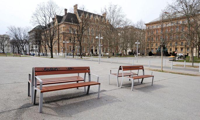 Symbolbild akademisches Gymnasium in Wien.