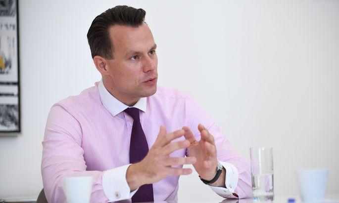 Christoph Boschan, der Chef der Wiener Börse.