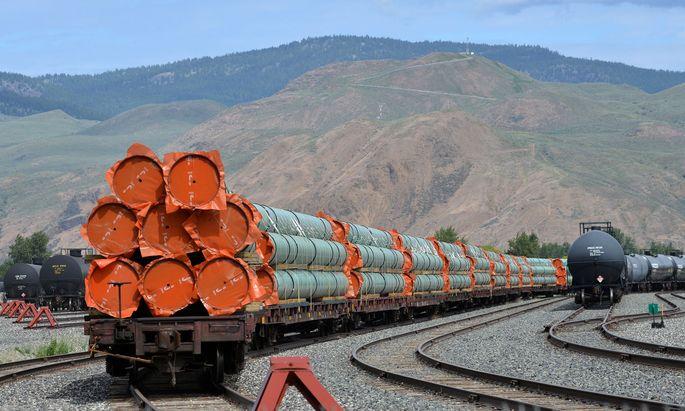 In Europa nicht jedem bekannt, in den USA aber enorm wichtig: Kinder Morgan, das ein 83.000 Meilen langes Pipelinenetz betreibt.