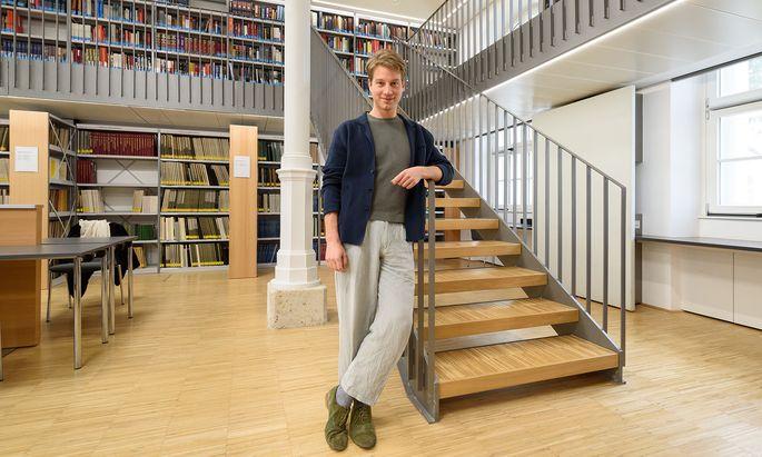"""Die manchmal enge Verflechtung von Beruf und Privatleben stört Marko Kölbl nicht: """"Ich mag, dass das, was ich mache, so viel mit mir zu tun hat."""""""