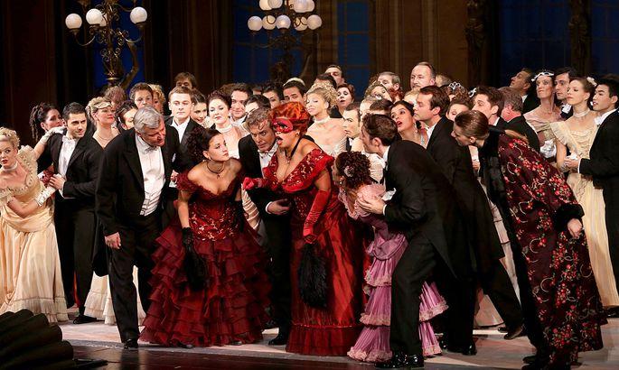 Aus der Volksoper Wien: Die Fledermaus