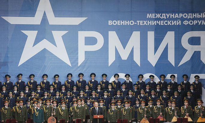 RUSSIA ARMY 2015 PUTIN