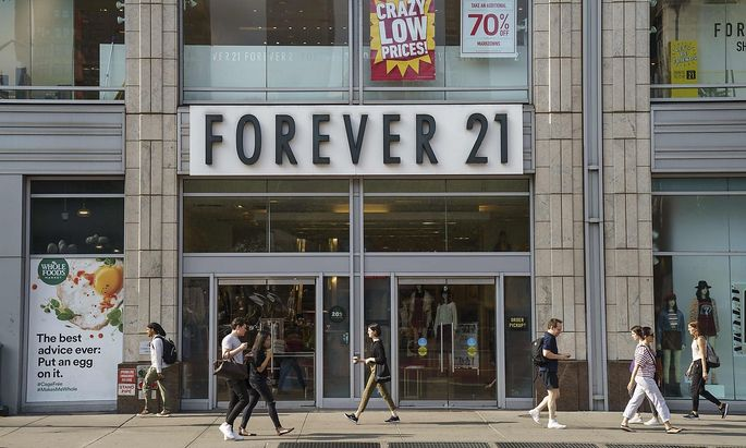 FILES-US-FOREVER21-RETAIL-BANKRUPTCY-FASHION