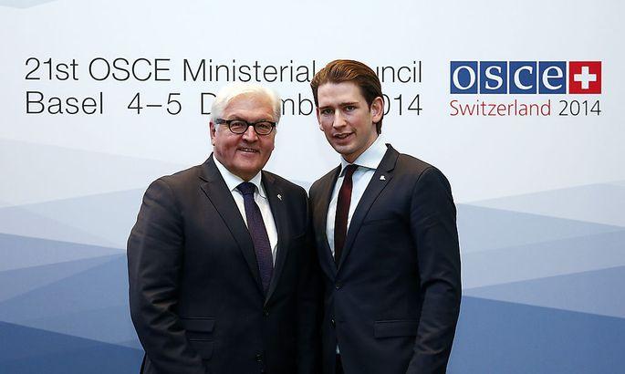 OSZE-Jahrestreffen in Basel: Steinmeier und Kurz
