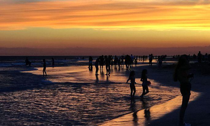 Strand Argentinien
