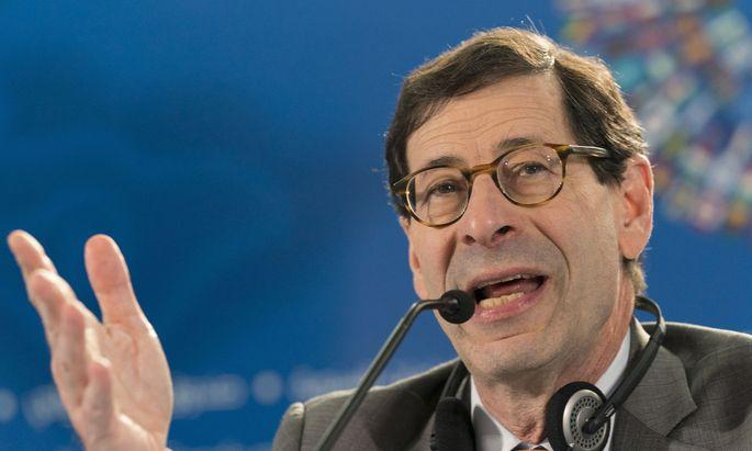 IWF-Chefökonom Maurice Obstfeld: Wahrscheinlichkeit weiterer negativer Schocks für unsere Wachstumsvorhersage ist gestiegen