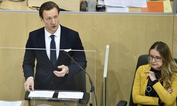 Gernot Blümel hält heute seine zweite Budgetrede.
