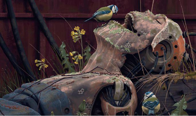 Die Serie basiert auf den retrofuturistischen Bildern von Simon Stålenhag.