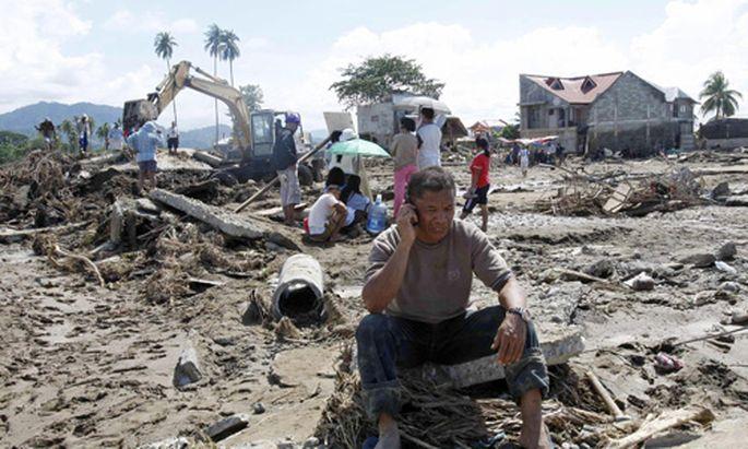 Philippinen Flut hinterlaesst Spur