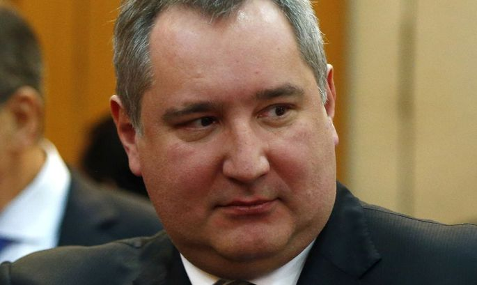 File photo of Russia's Deputy Prime Minister Rogozin seen before the start of a signing ceremony in New Delhi