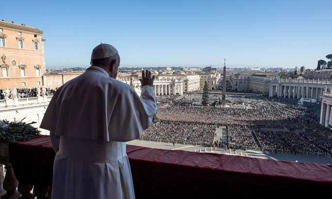 Pope Francis delivers the Christmas Day ´Urbi et Orbi´ message