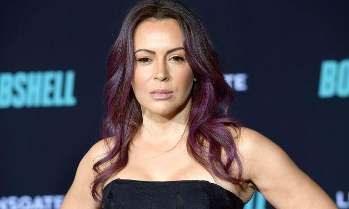 """""""Shame on you"""": Schauspielerin Alyssa Milano findet klare Worte."""
