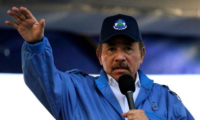 Präsident Daniel Ortega lässt politische Gegner festnehmen