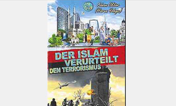 In Wien verteiltes Adnan-Oktar-Buch.