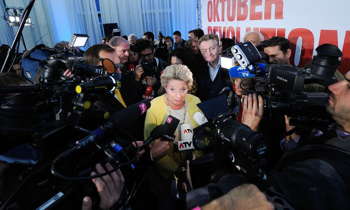 Ursula Stenzel nach der Wien-Wahl 2015
