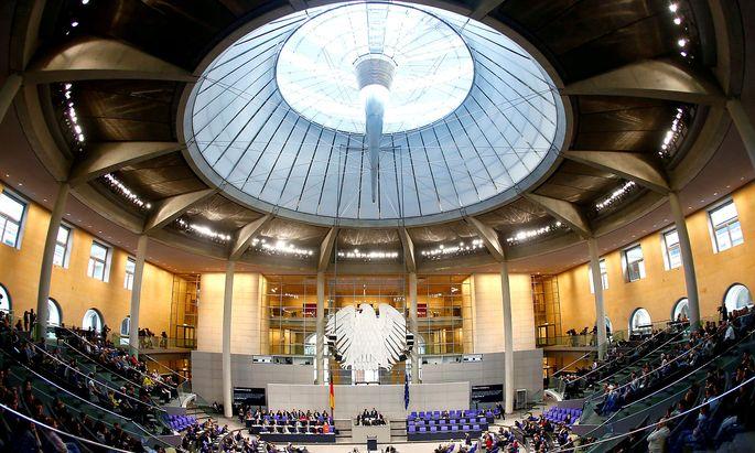 Archivbild: Der deutsche Bundestag