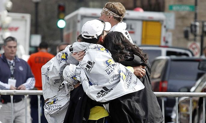 Trauer nach dem Anschlag in Boston