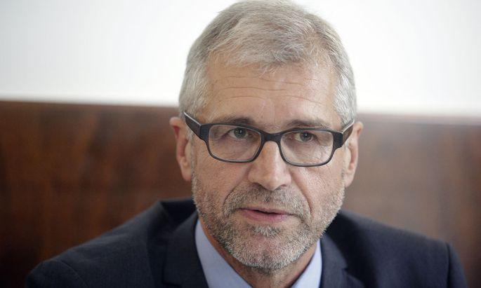 Der grüne Bildungsprecher Harald Walser