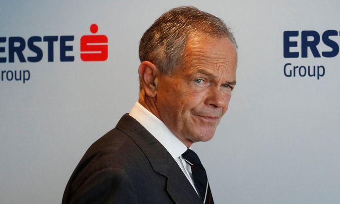 Erste-Chef Andreas Treichl