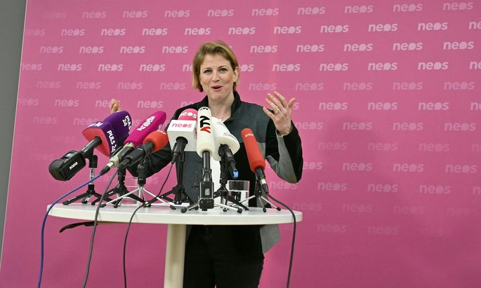 Neos-Klubchefin Beate Meinl-Reisinger