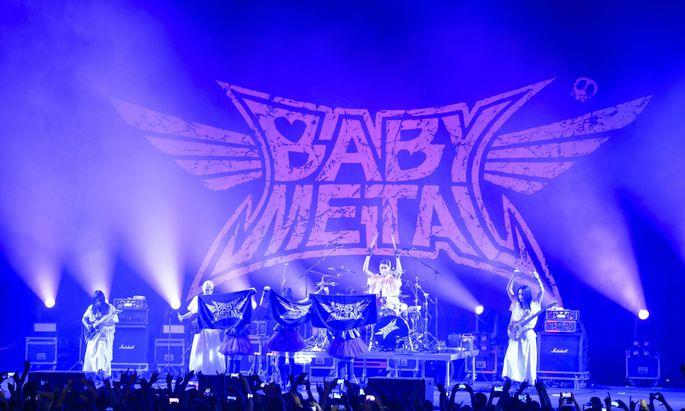 BABYMETAL live bei ROCKAVARIA Open Air Festival im Olympiapark M�nchen 29 05 2015 ROCKAVARIA 2015