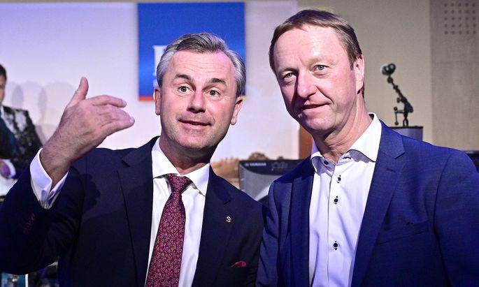 Johann Tschürtz und Norbert Hofer.