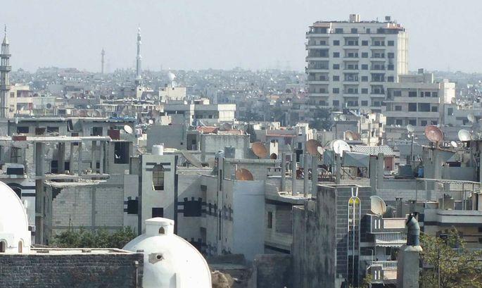 Syrien Letzter Christ Zentrum