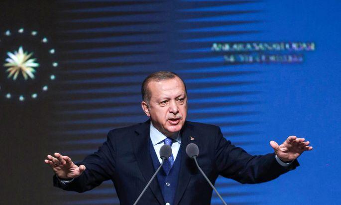 Der türkische Präsident Recep Tayyip Erdoğan.