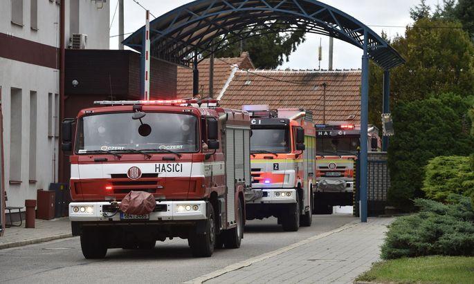 Wohnhaus in Tschechien eingestürzt